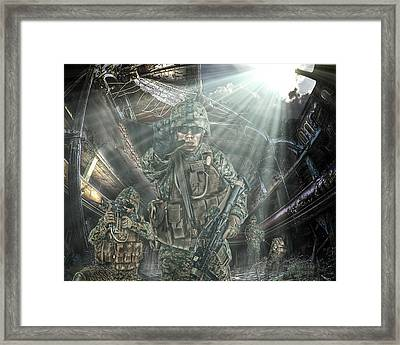 American Patriots Framed Print by Mark Allen