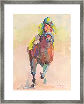 Champion Framed Print by Kimberly Santini