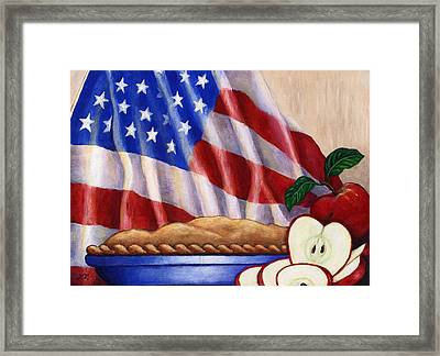 American Pie Framed Print by Linda Mears