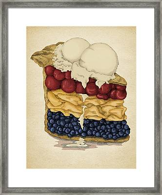 American Pie Framed Print
