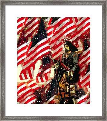 American Pirate Framed Print by David Lee Thompson