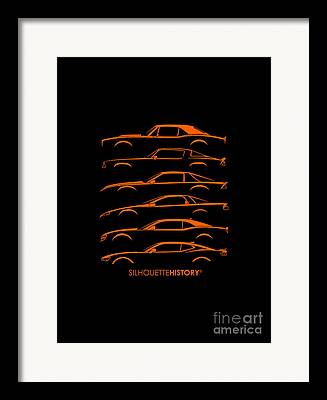 Camaro Framed Prints