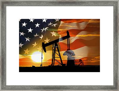 American Power Framed Print by Daniel Hagerman