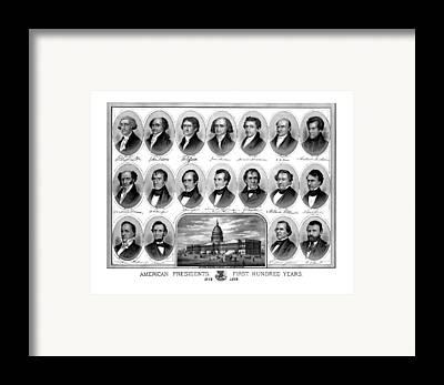 Capitol Framed Prints