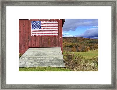 American Pride Framed Print by Edward Fielding