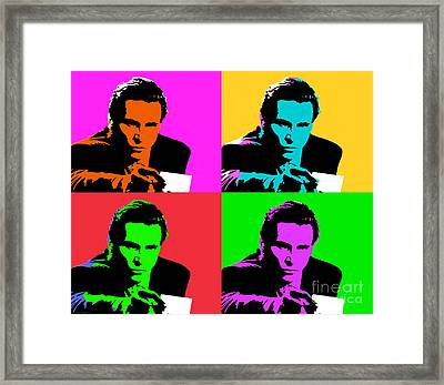 American Psycho Pop Art Framed Print