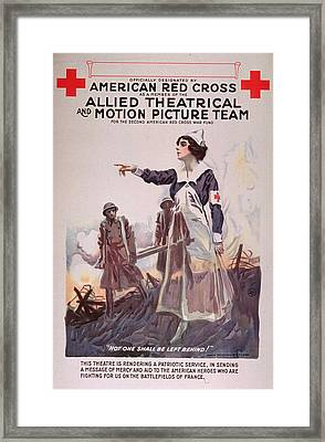 American Red Cros Framed Print