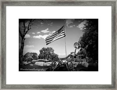 American Renagades Framed Print by Rhonda DePalma
