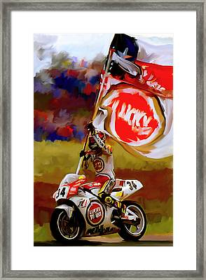 American Revolution I Kevin Schwantz Framed Print by Iconic Images Art Gallery David Pucciarelli