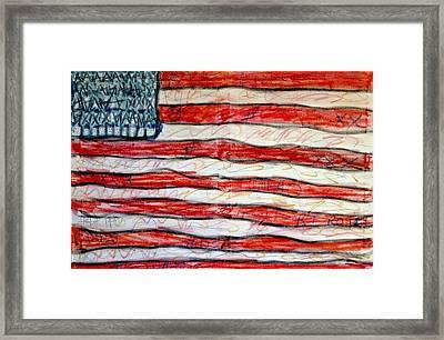 American Social Framed Print