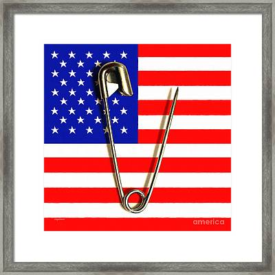 American Solidarity Against Hate 20161112 Framed Print by Wingsdomain Art and Photography