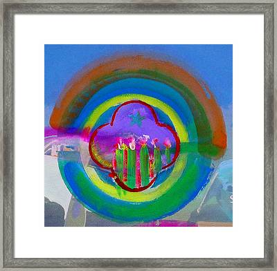 Framed Print featuring the painting American Spring by Charles Stuart