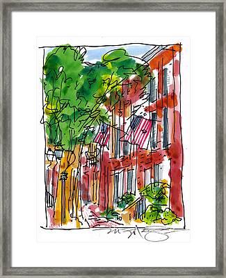 American Street Philadelphia Framed Print