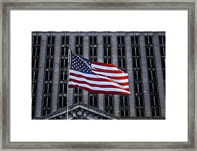 American The Beautiful  Framed Print
