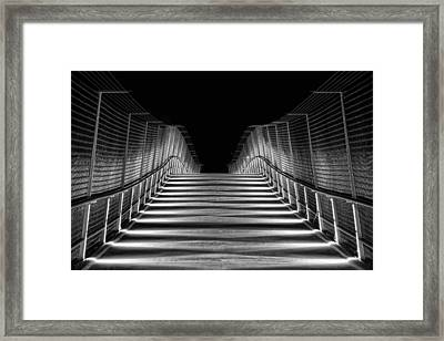 American Tobacco Trail Bridge  Framed Print