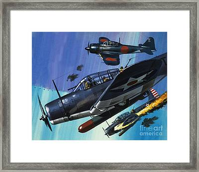 American Torpedo Planes Of World War Two Framed Print