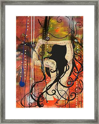American Witch Framed Print