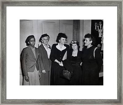 American Women Labor Leaders Framed Print by Everett