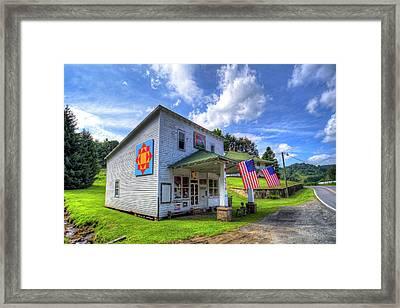 Americana Framed Print by Dale R Carlson