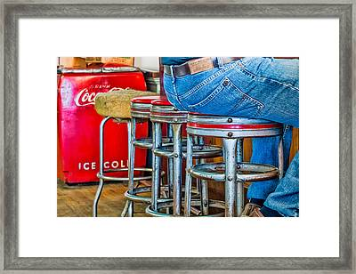 Americana Break Time Framed Print