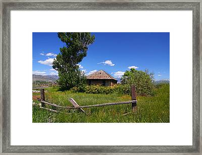 Americana Farm Framed Print by Mark Smith