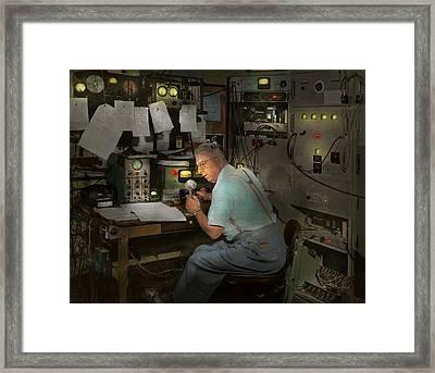 Americana - Radio - The Conspiracy Expert - 1948 Framed Print