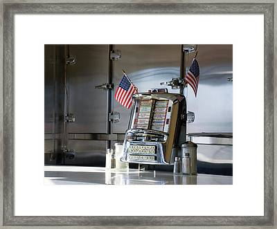 Americana Framed Print by Randy Ford