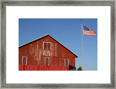 Americana Framed Print by Robert Babler