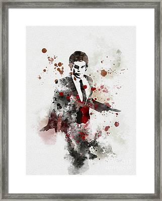 America's Favourite Serial Killer Framed Print by Rebecca Jenkins