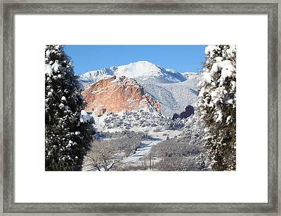 America's Mountain Framed Print by Eric Glaser