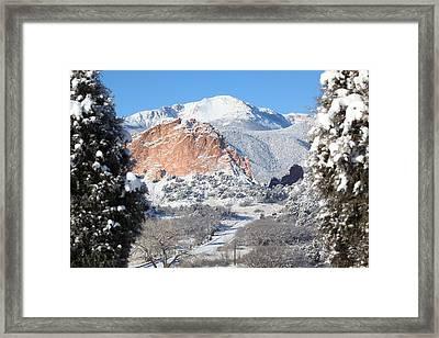 America's Mountain Framed Print