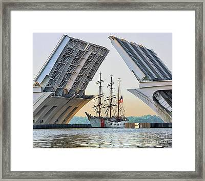 America's Tall Ship Framed Print