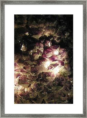 Amethyst Framed Print by Jez C Self