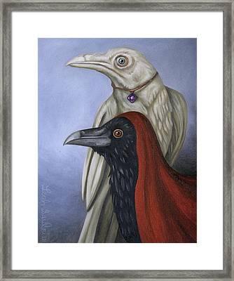 Amethyst Framed Print by Leah Saulnier The Painting Maniac