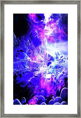 Amethyst Yule Night Dreams Framed Print