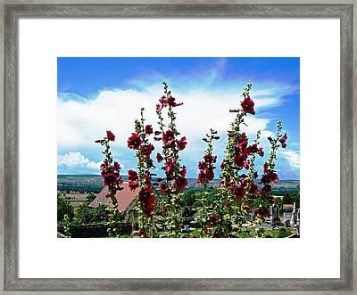 Ameugny Framed Print