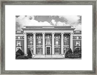 Amherst College Converse Hall Framed Print by University Icons