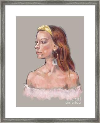 Amiel Framed Print