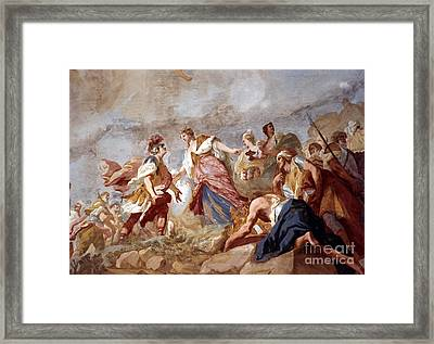 Amigoni: Dido And Aeneas Framed Print by Granger