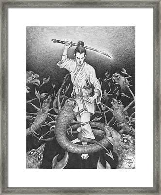 Amikiri Framed Print