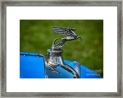 Amilcar Pegasus Emblem Framed Print by Adrian Evans