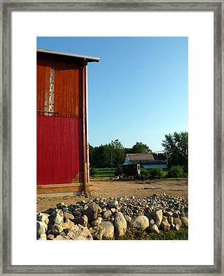 Amish Country Framed Print by Robert Babler