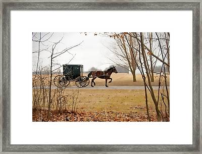 Amish Dream 1 Framed Print