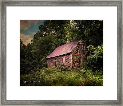 Amish House Framed Print