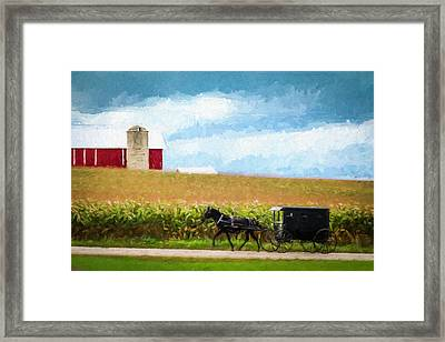 Amish Paradise Framed Print