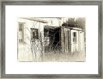 Amish Ruins Framed Print