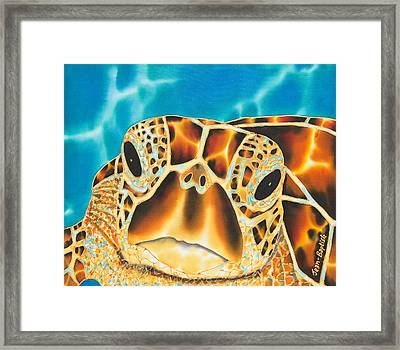 Amitie Sea Turtle Framed Print