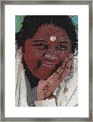 Amma - Close Up Framed Print