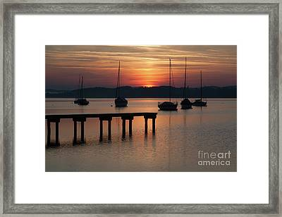 Ammersee, Germany Framed Print