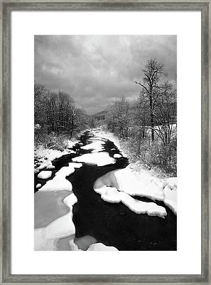 Ammonoosuc River Framed Print by Joseph Smith